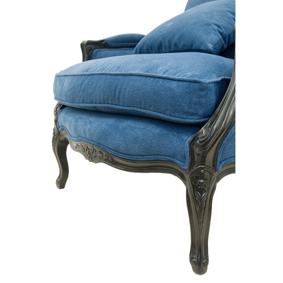Кресло Aldo blue 5 | Каминные кресла Kingsby