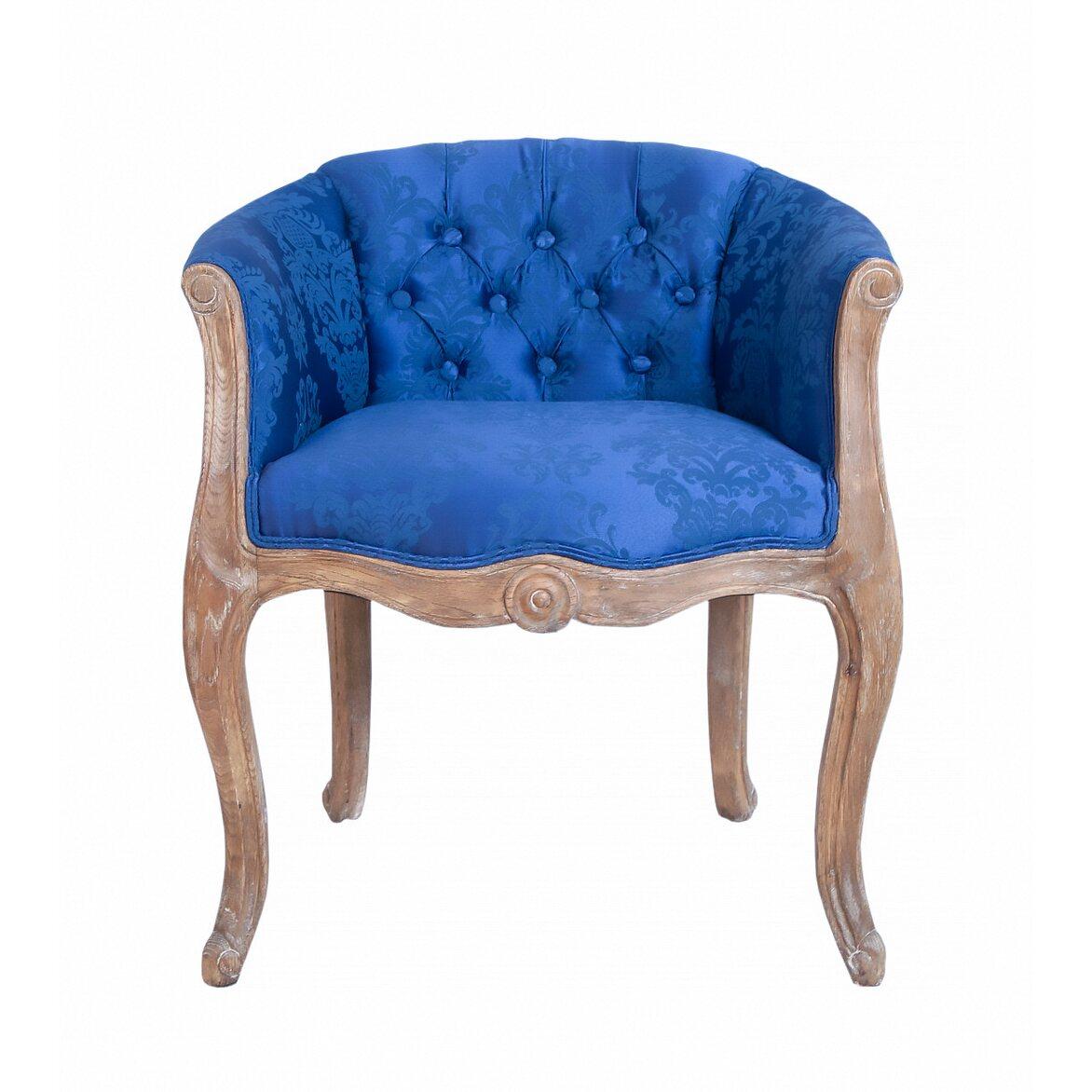 Низкое кресло Kandy blue | Маленькие кресла Kingsby