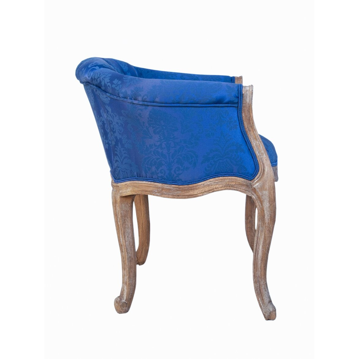 Низкое кресло Kandy blue 2 | Маленькие кресла Kingsby