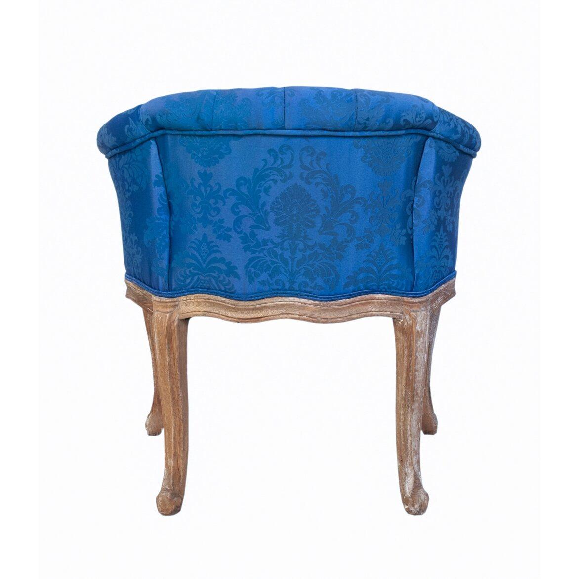Низкое кресло Kandy blue 3 | Маленькие кресла Kingsby
