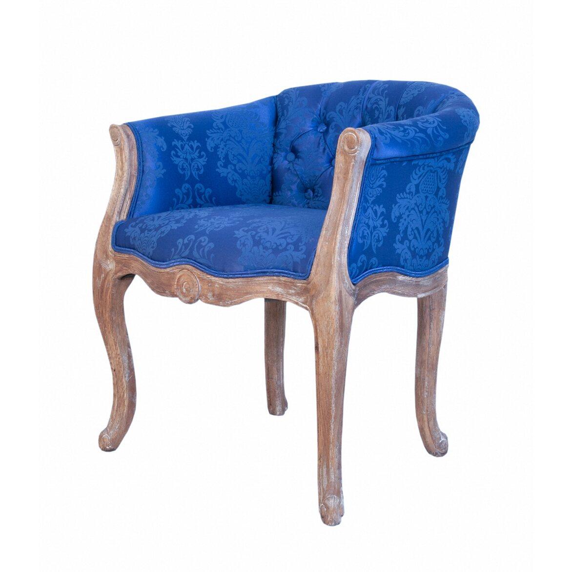 Низкое кресло Kandy blue 4 | Маленькие кресла Kingsby