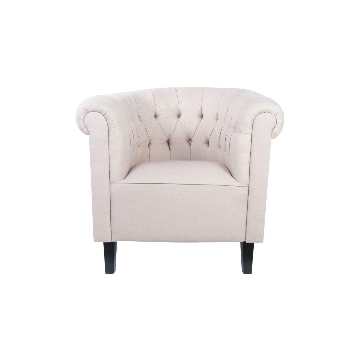 Кресло Swaun beige | Маленькие кресла Kingsby