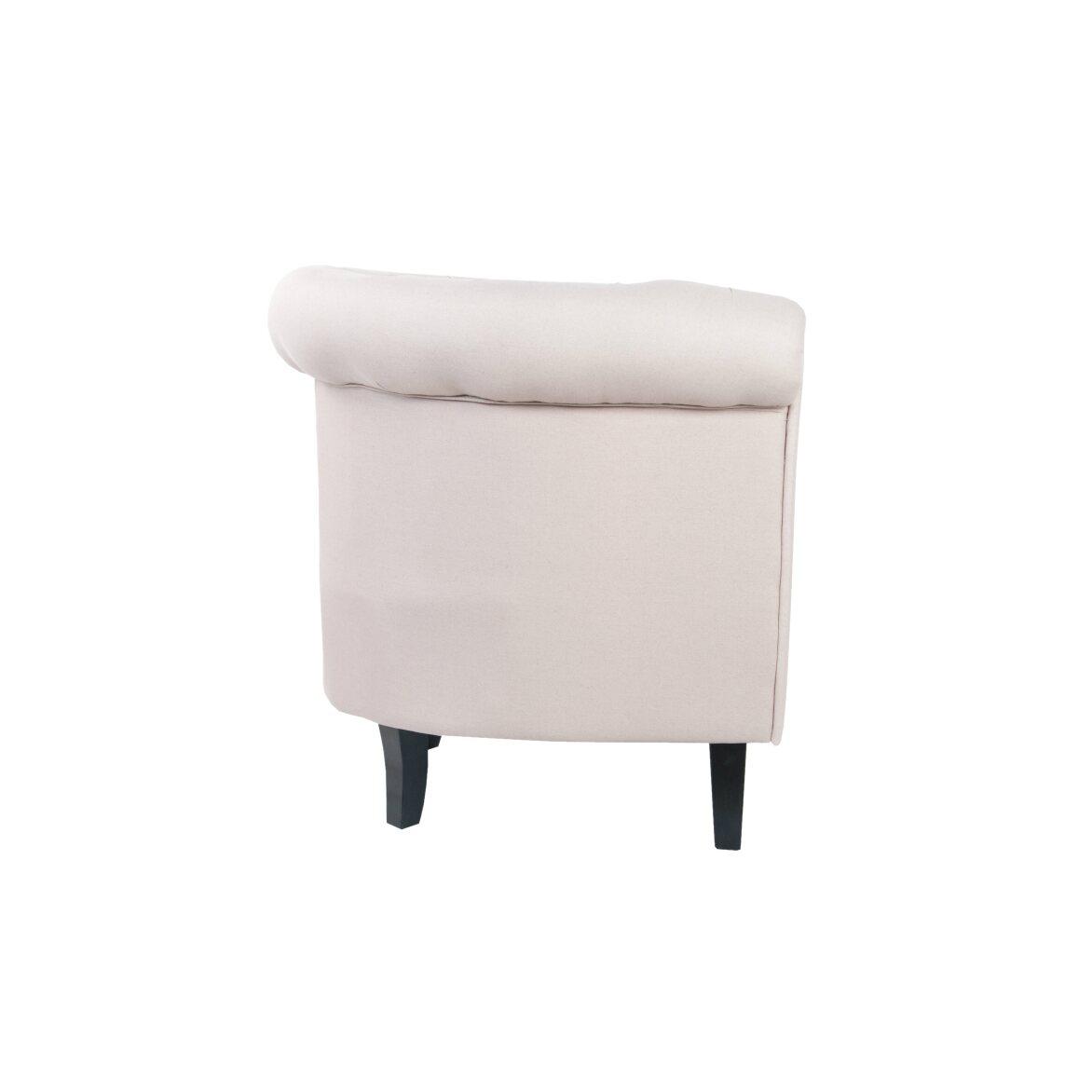 Кресло Swaun beige 2 | Маленькие кресла Kingsby