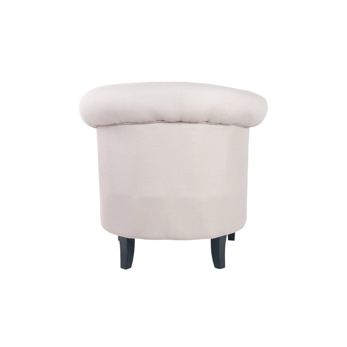 Кресло Swaun beige 3 | Маленькие кресла Kingsby