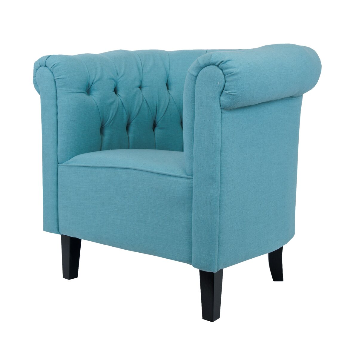 Кресло Swaun turquoise 4 | Каминные кресла Kingsby