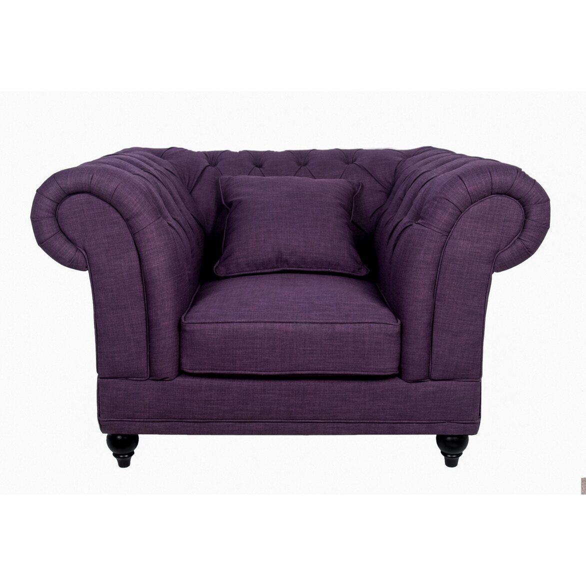 Кресло Dasen purple 2   Каминные кресла Kingsby
