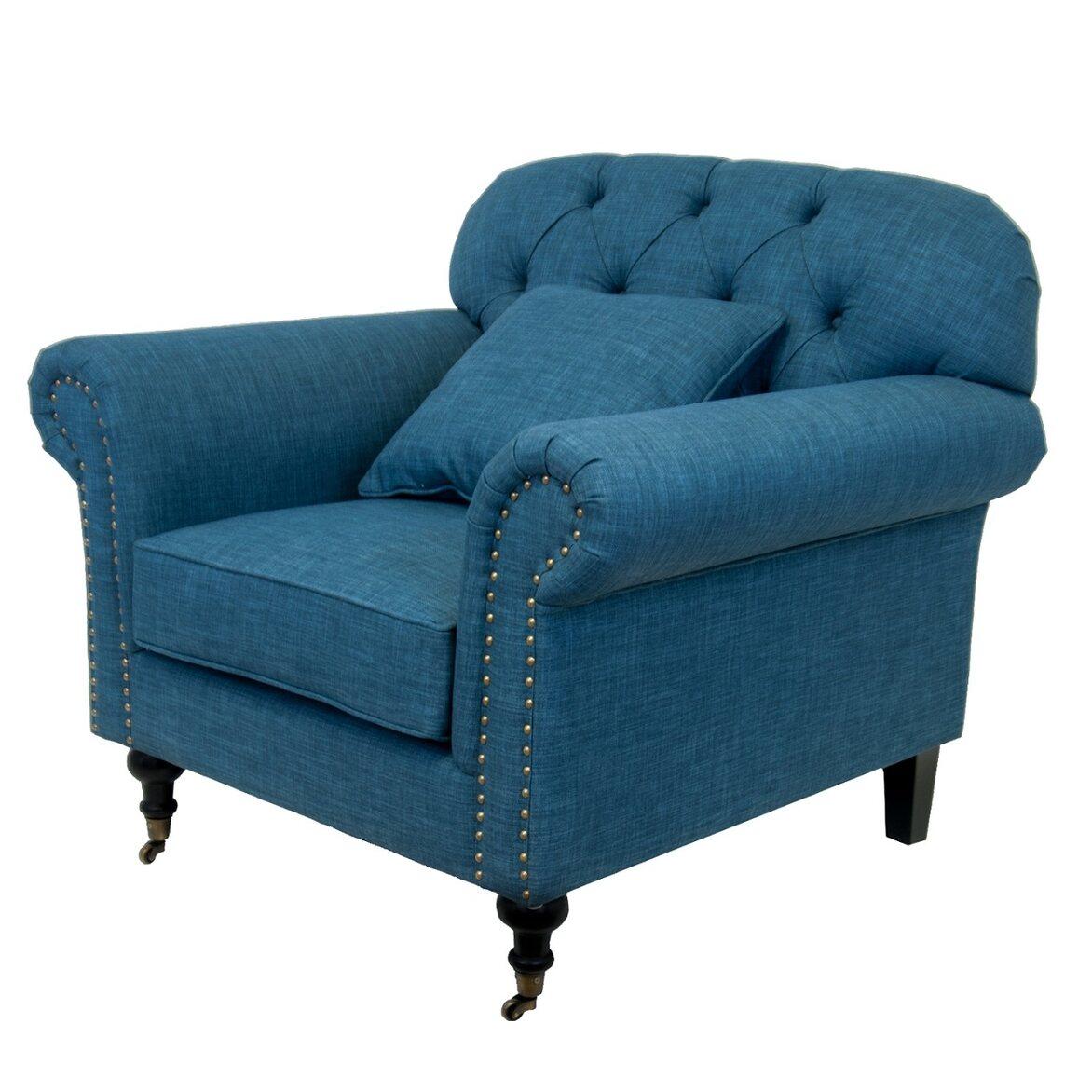 Кресло Kavita blue 2 | Каминные кресла Kingsby