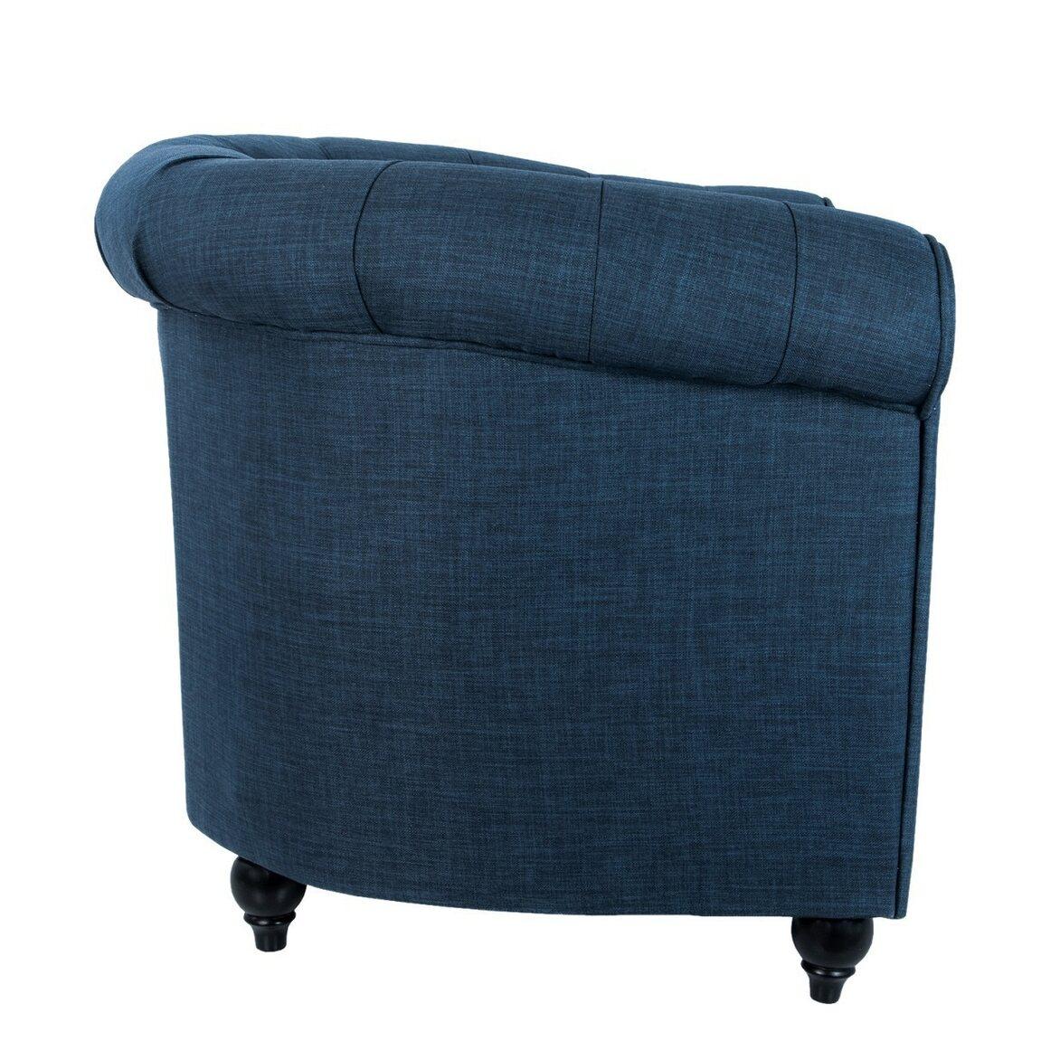 Кресло Nala blue 2 | Каминные кресла Kingsby