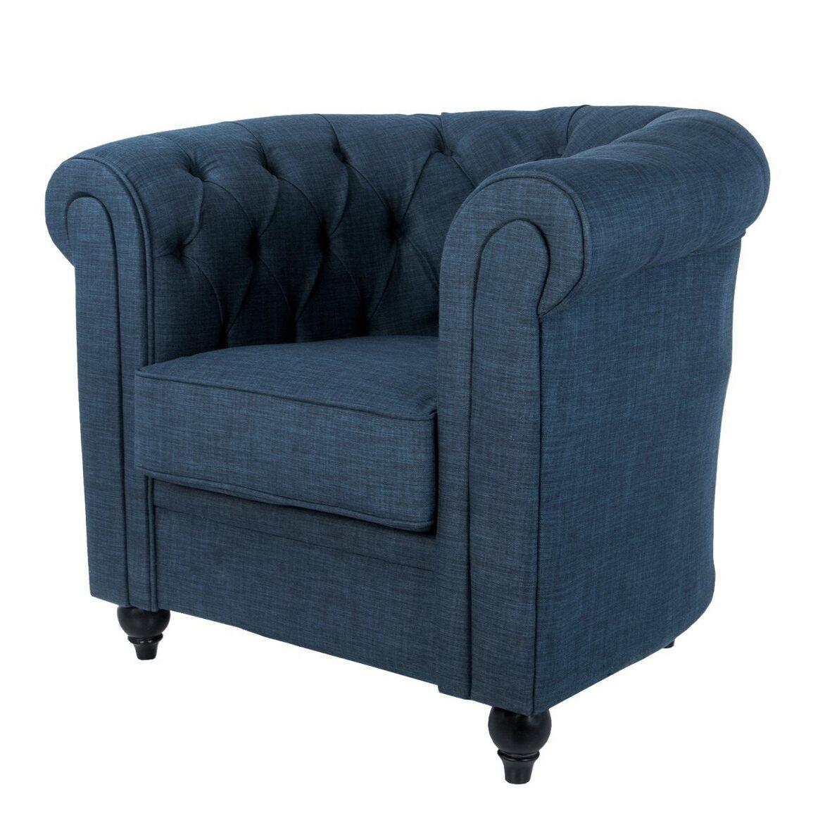 Кресло Nala blue 3 | Каминные кресла Kingsby
