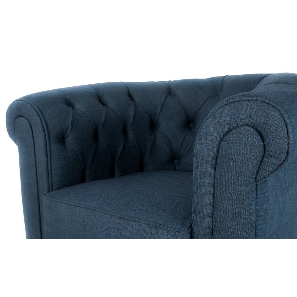 Кресло Nala blue 4 | Каминные кресла Kingsby