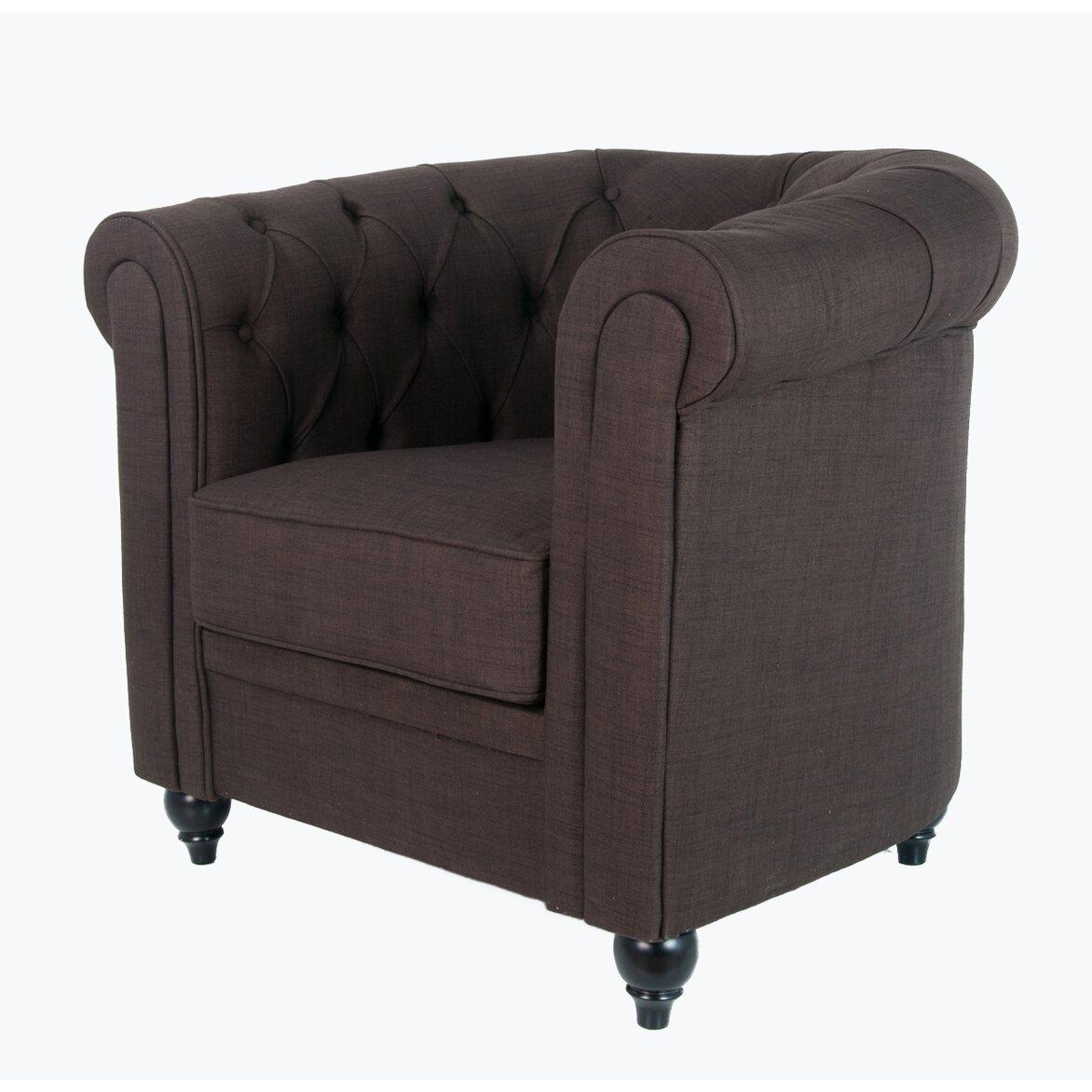 Кресло Nala brown 3 | Каминные кресла Kingsby