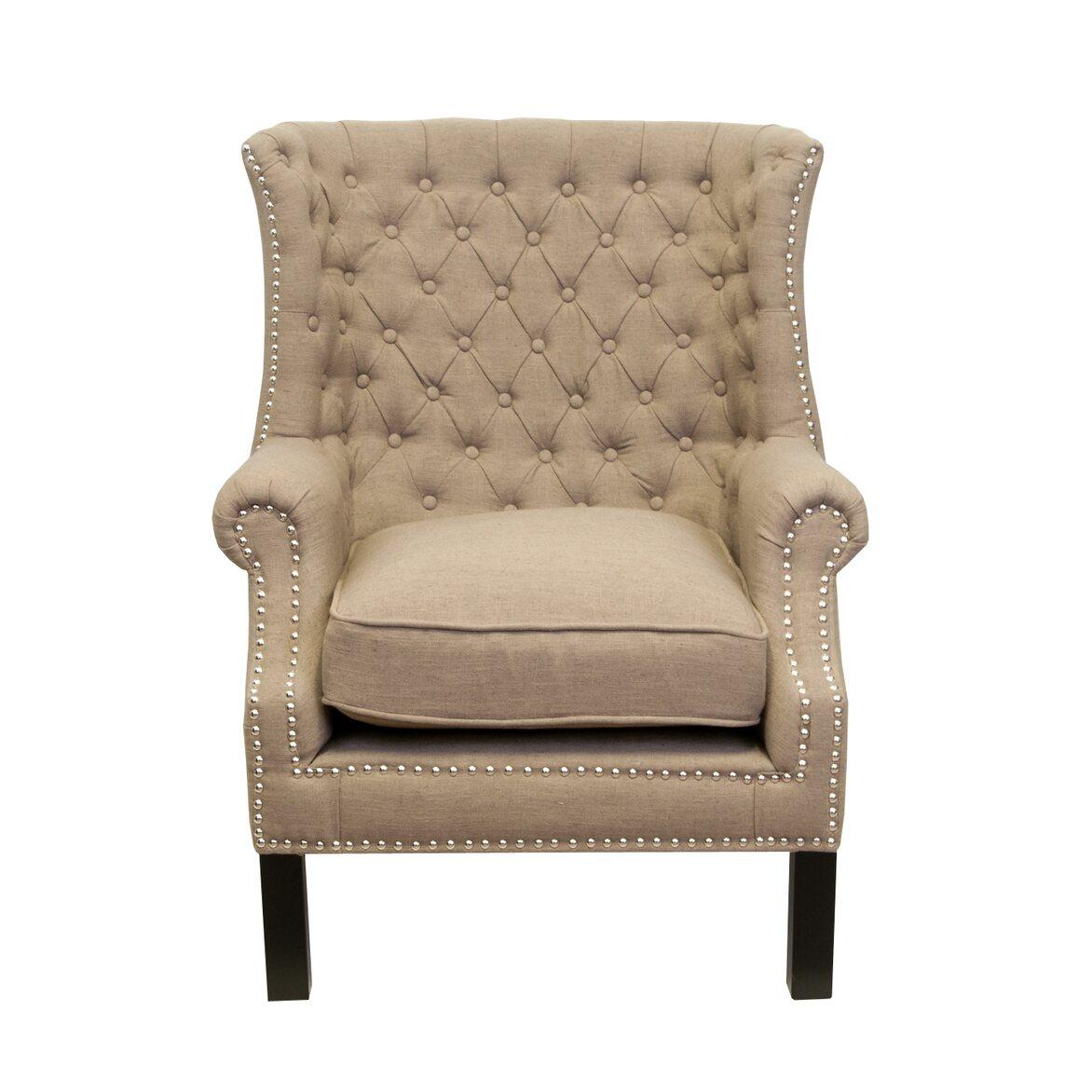 Кресло Teas brown   Каминные кресла Kingsby