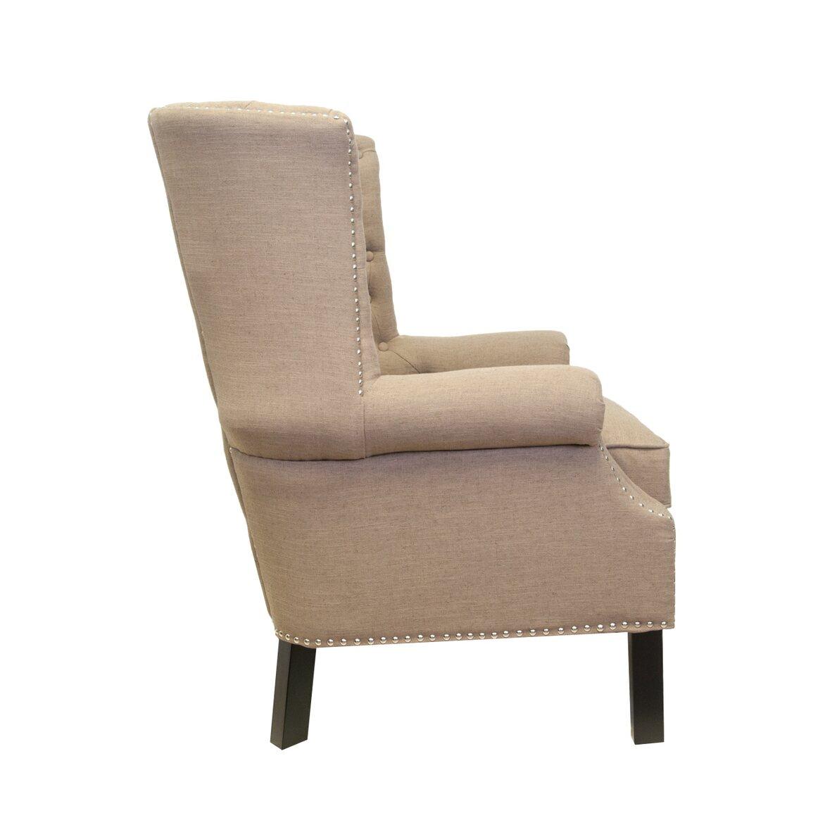 Кресло Teas brown 2   Каминные кресла Kingsby
