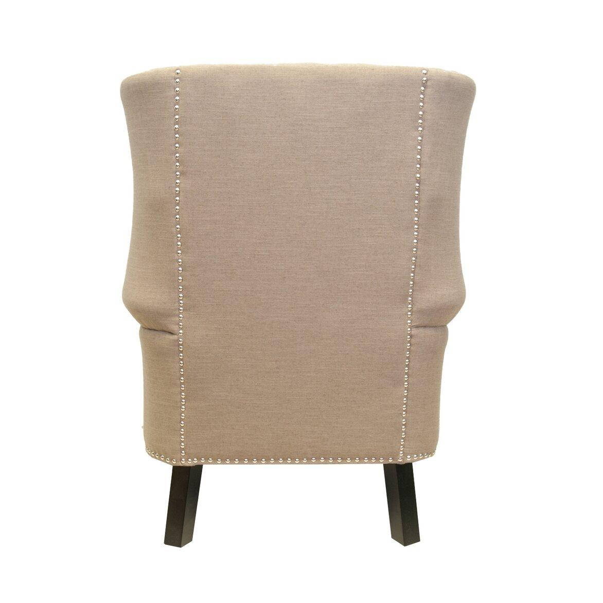 Кресло Teas brown 3   Каминные кресла Kingsby