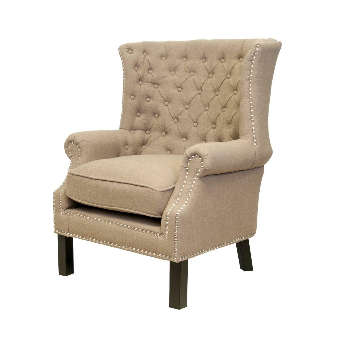 Кресло Teas brown 4   Каминные кресла Kingsby