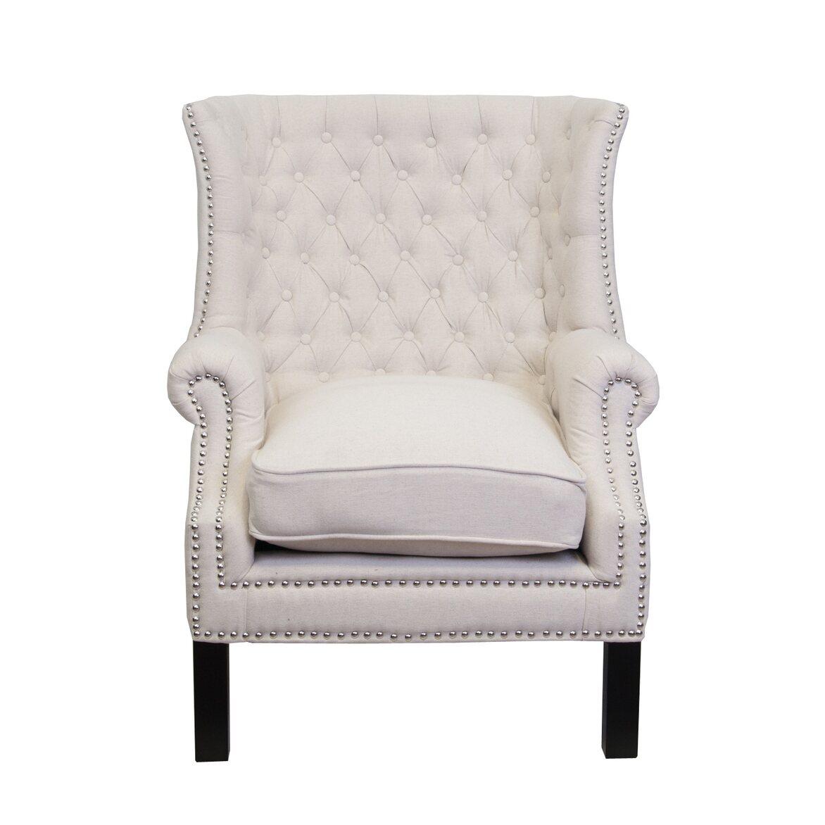 Кресло Teas beige   Каминные кресла Kingsby