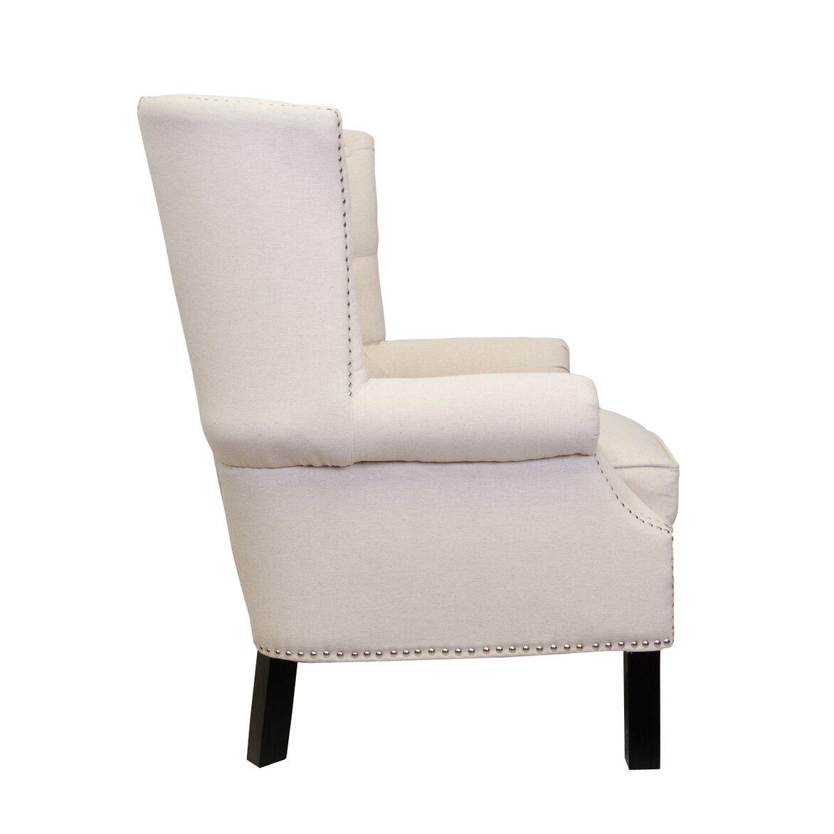 Кресло Teas beige 2   Каминные кресла Kingsby
