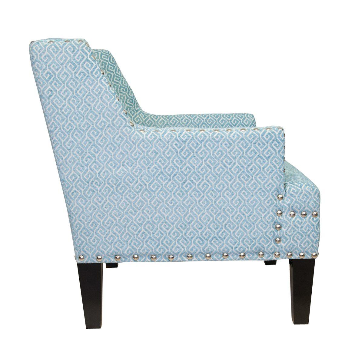 Кресло Mart blue 2 | Каминные кресла Kingsby