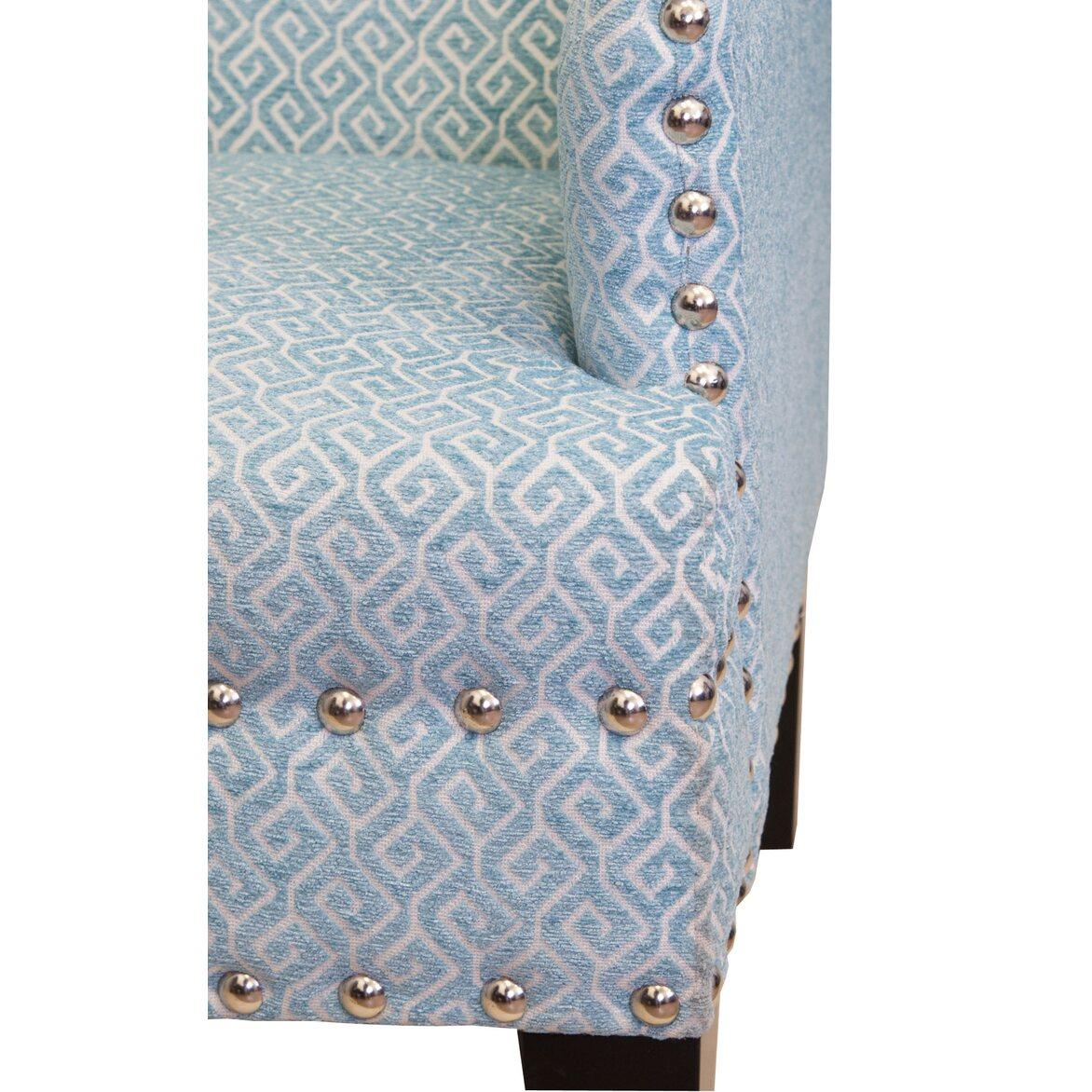 Кресло Mart blue 5 | Каминные кресла Kingsby