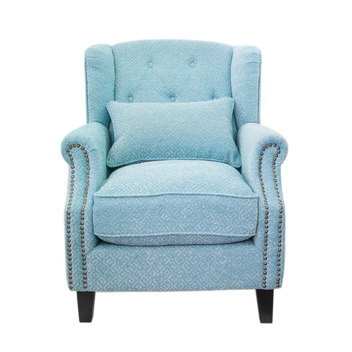 Полукресло Scott blue | Каминные кресла Kingsby
