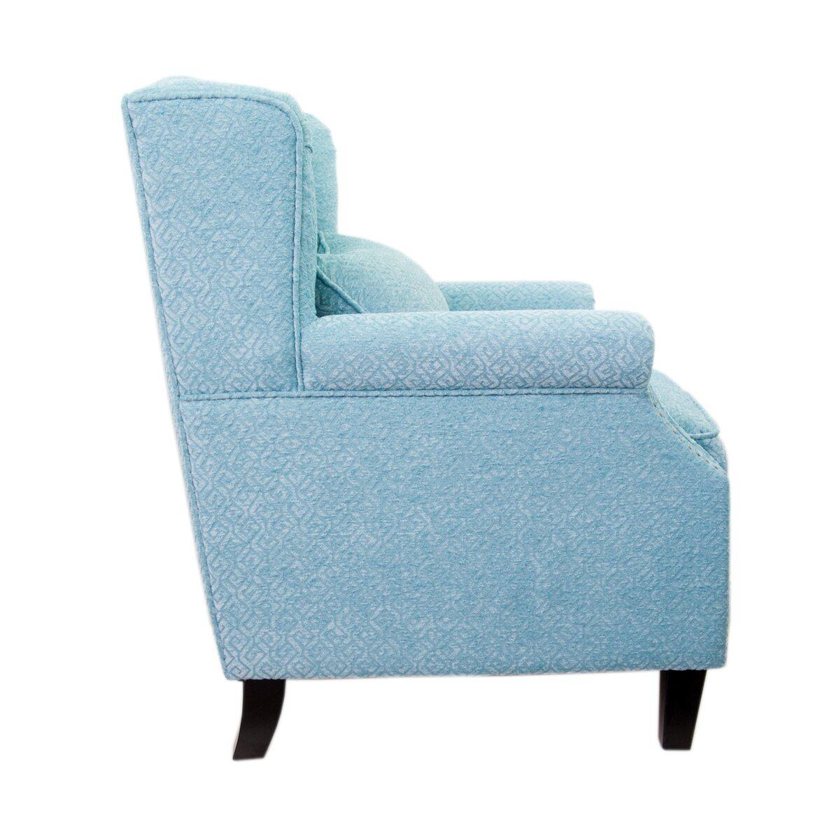 Полукресло Scott blue 2 | Каминные кресла Kingsby