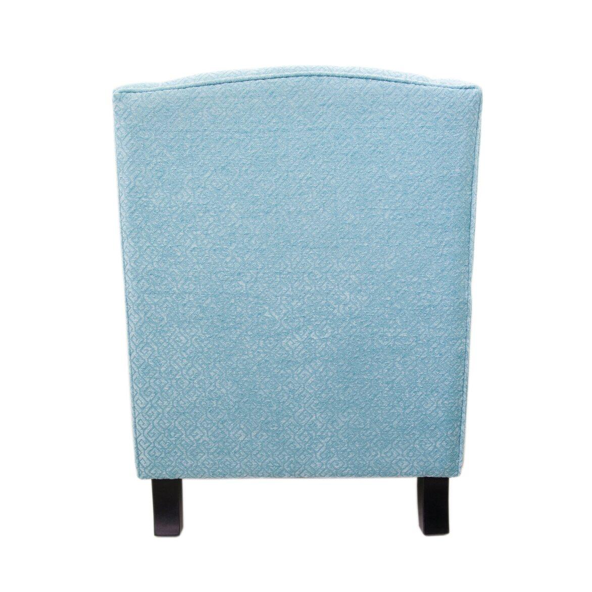 Полукресло Scott blue 3 | Каминные кресла Kingsby