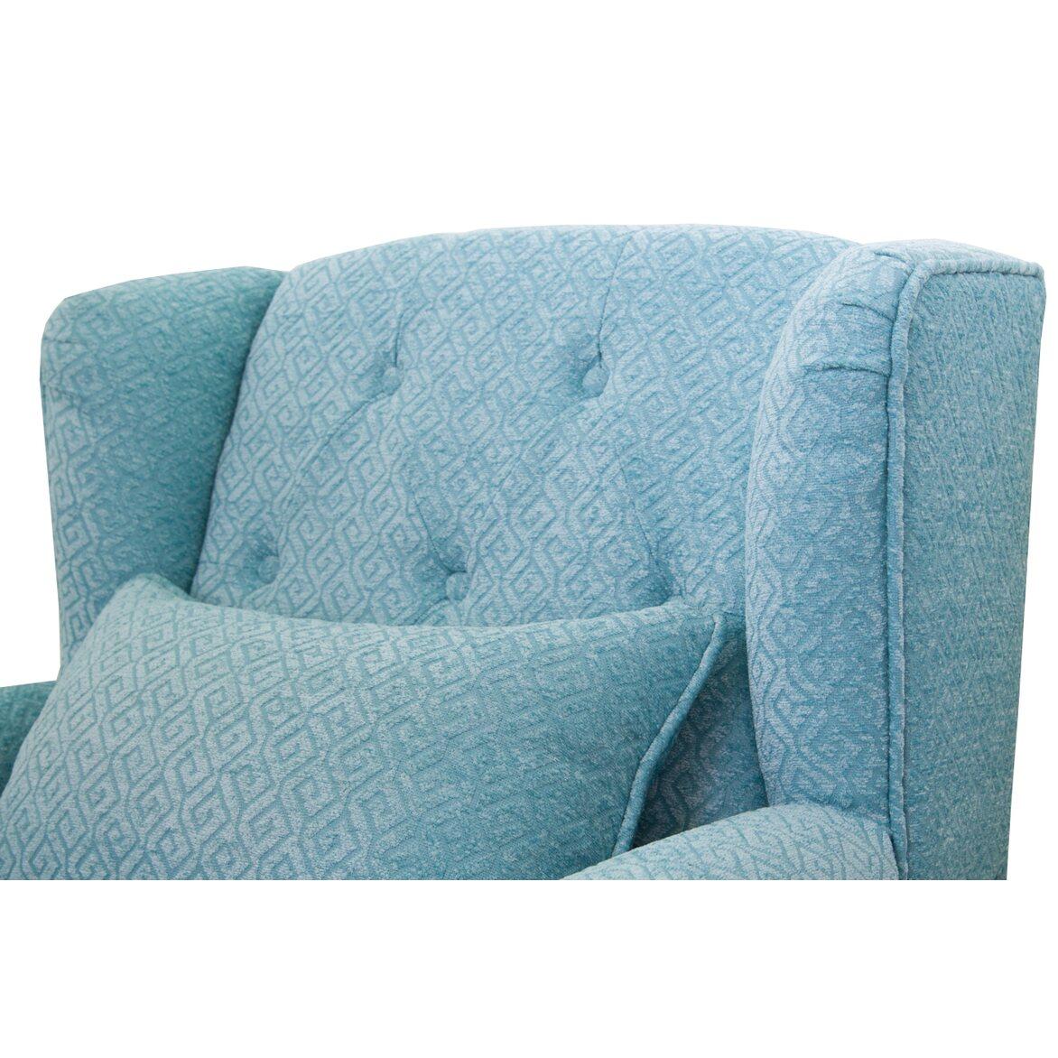 Полукресло Scott blue 5 | Каминные кресла Kingsby