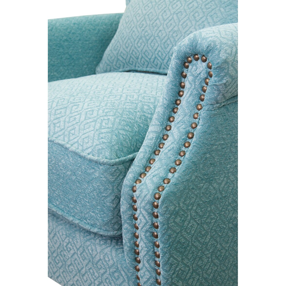 Полукресло Scott blue 6 | Каминные кресла Kingsby