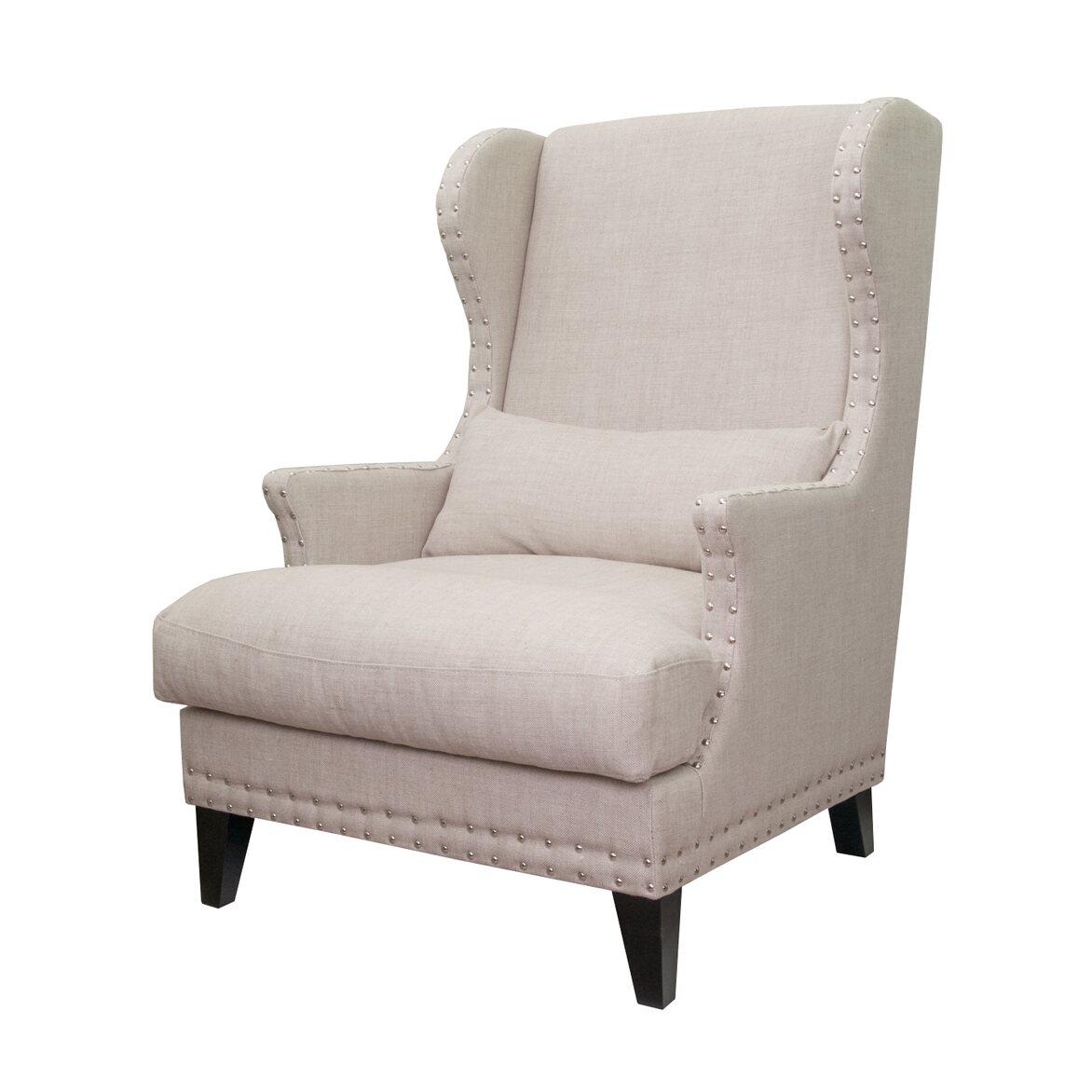 Полукресло Agon beige 4 | Каминные кресла Kingsby