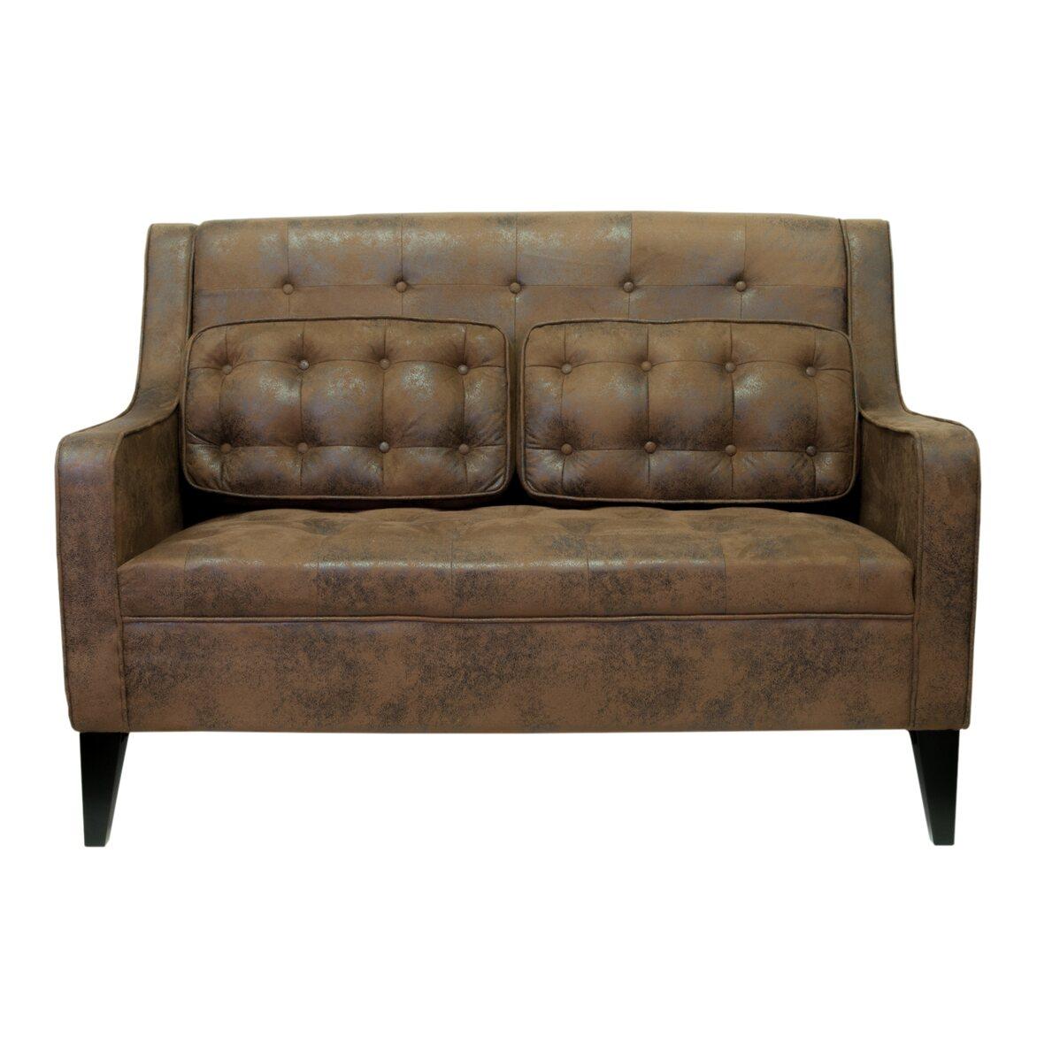 Двухместный диван Hublon | Прямые диваны Kingsby