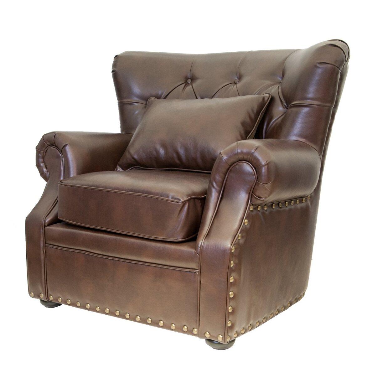 Кожаное кресло Tesco 2 | Кожаные кресла Kingsby
