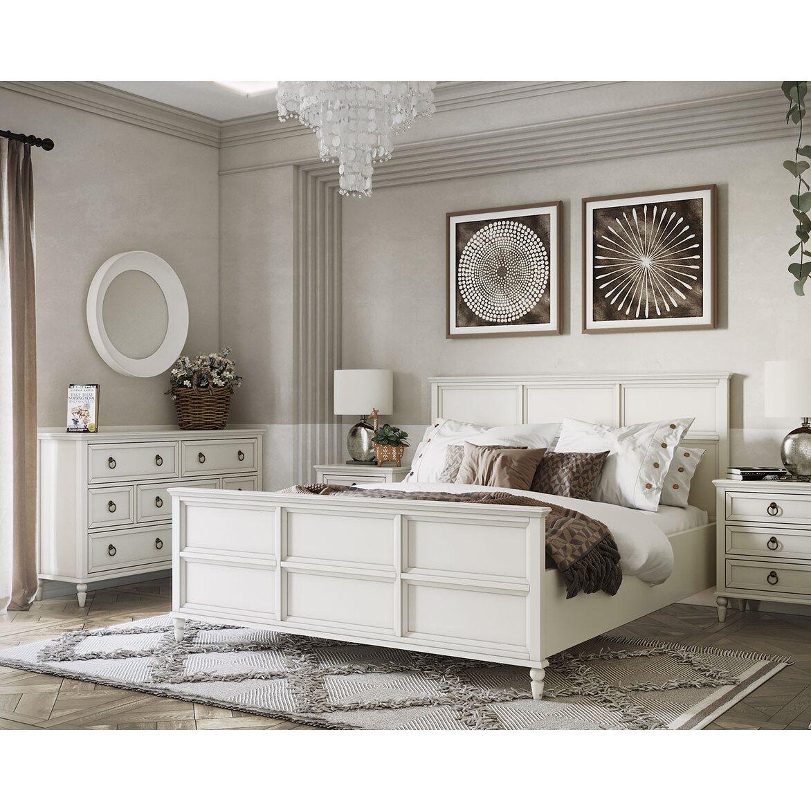 Кровать Vilton, с изножьем 3   Двуспальные кровати Kingsby