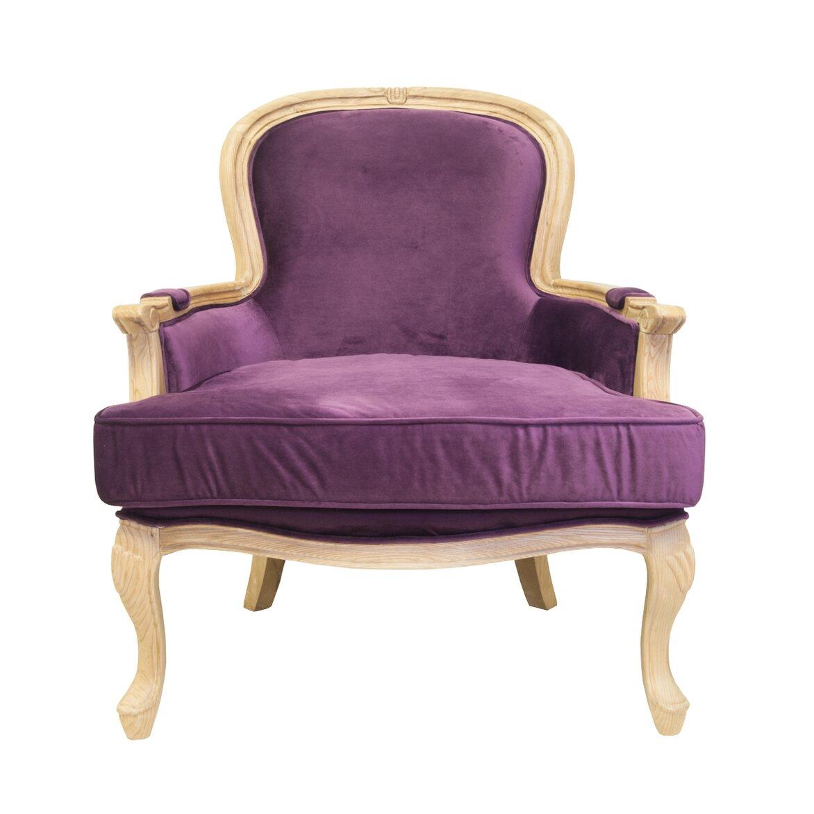 Кресло Diesta violet   Каминные кресла Kingsby