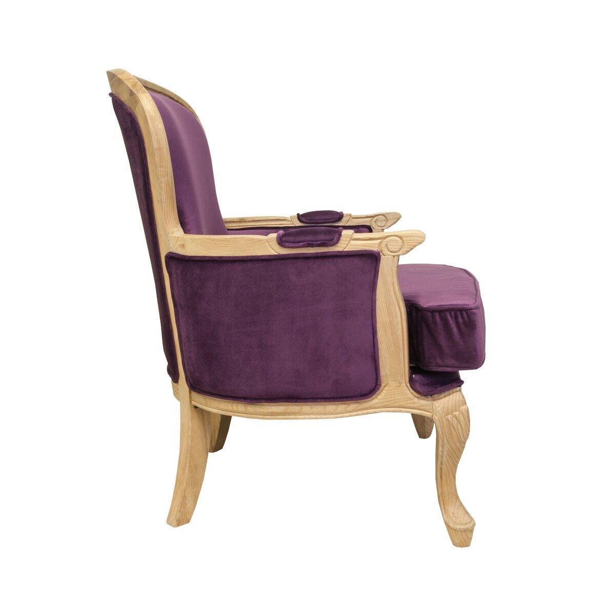 Кресло Diesta violet 2   Каминные кресла Kingsby