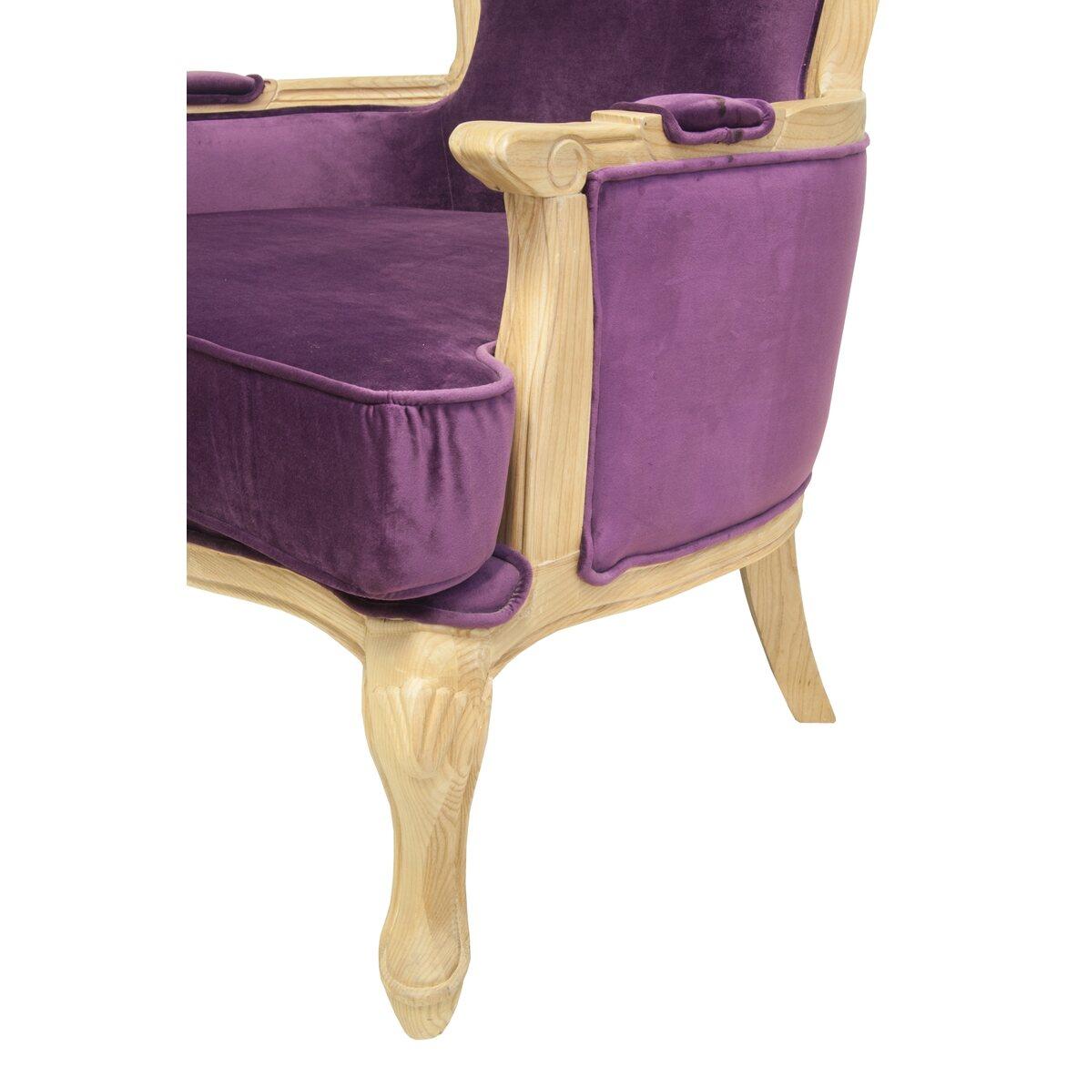 Кресло Diesta violet 5   Каминные кресла Kingsby