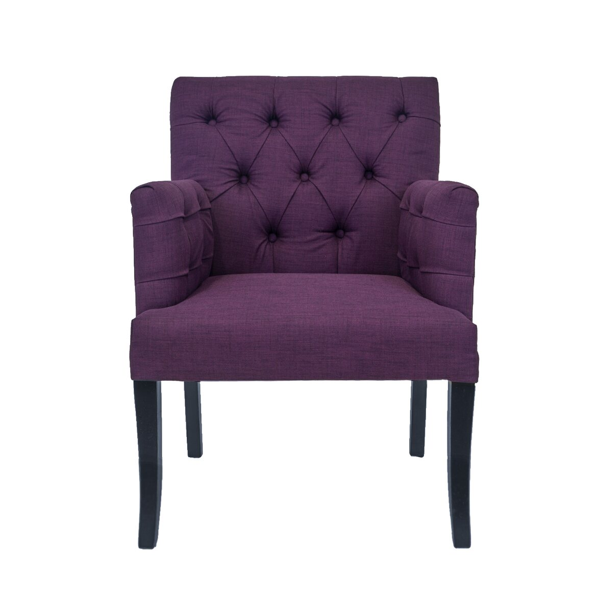 Кресло Zander purple | Кресло-стул Kingsby
