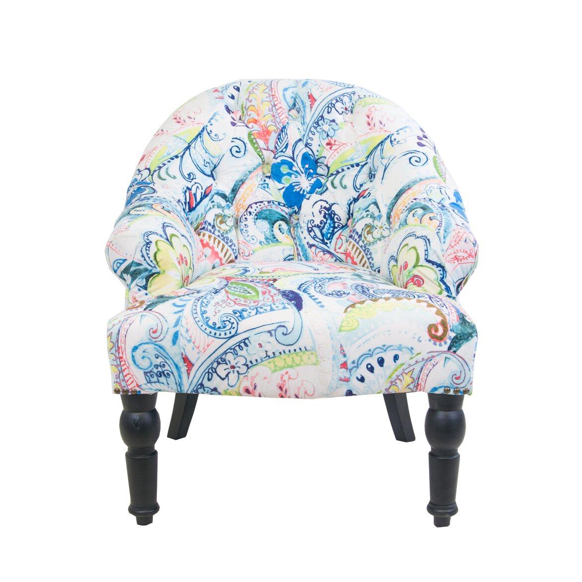 Кресло Desta flower | Маленькие кресла Kingsby