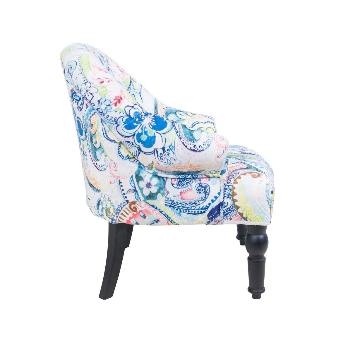 Кресло Desta flower 2 | Маленькие кресла Kingsby