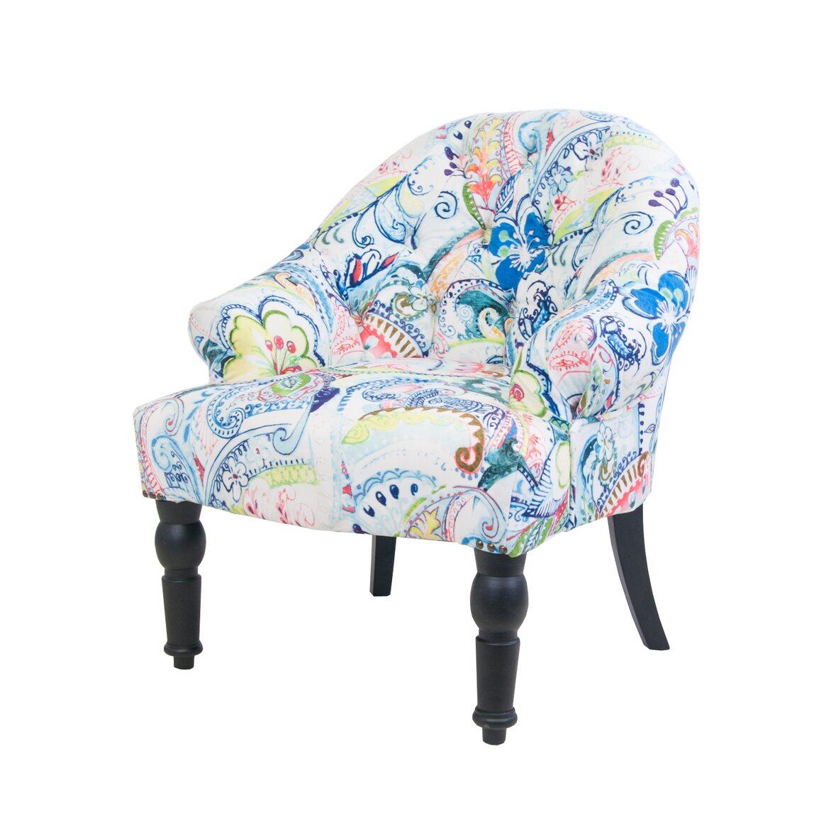 Кресло Desta flower 4 | Маленькие кресла Kingsby