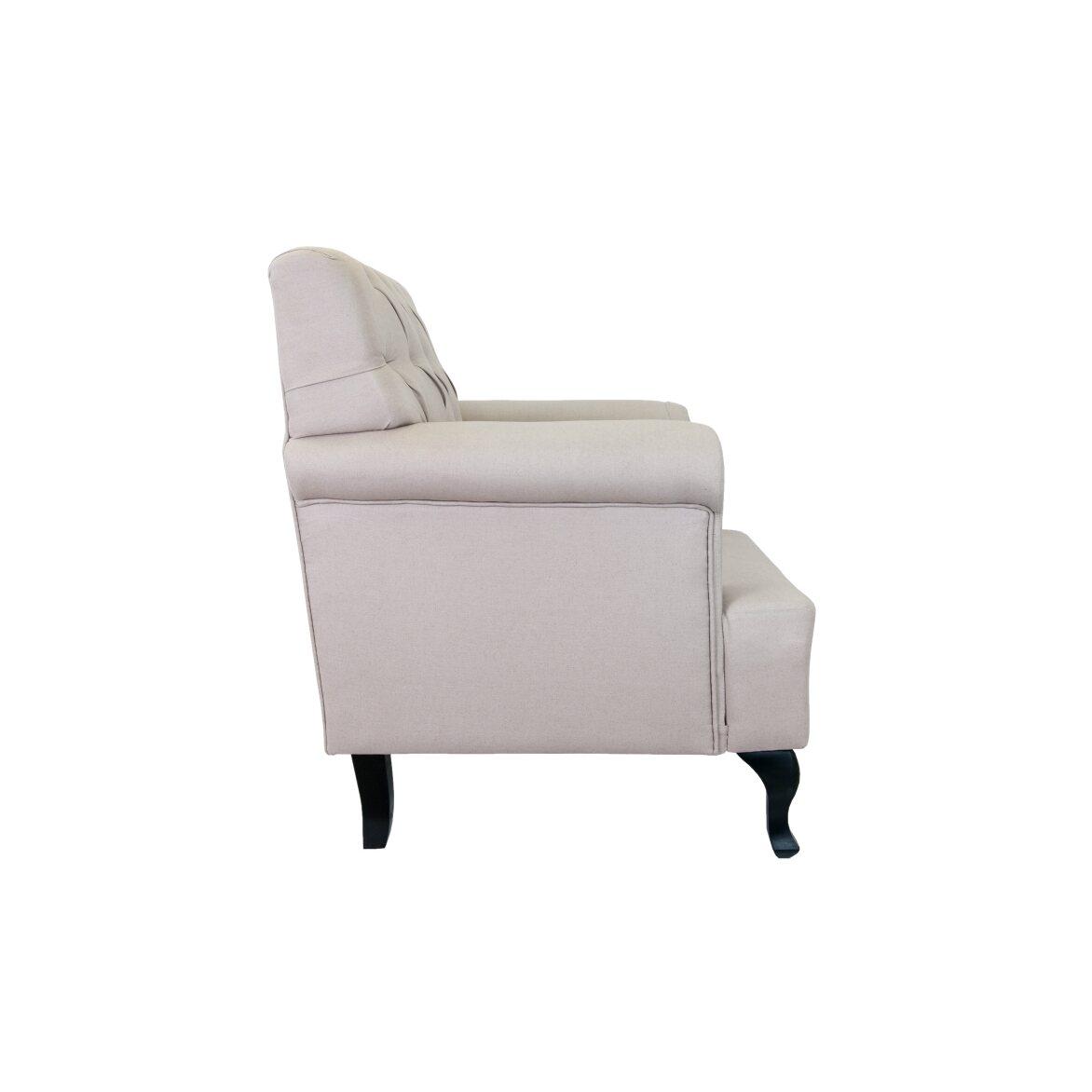Кресло Kaniel beige 2 | Каминные кресла Kingsby