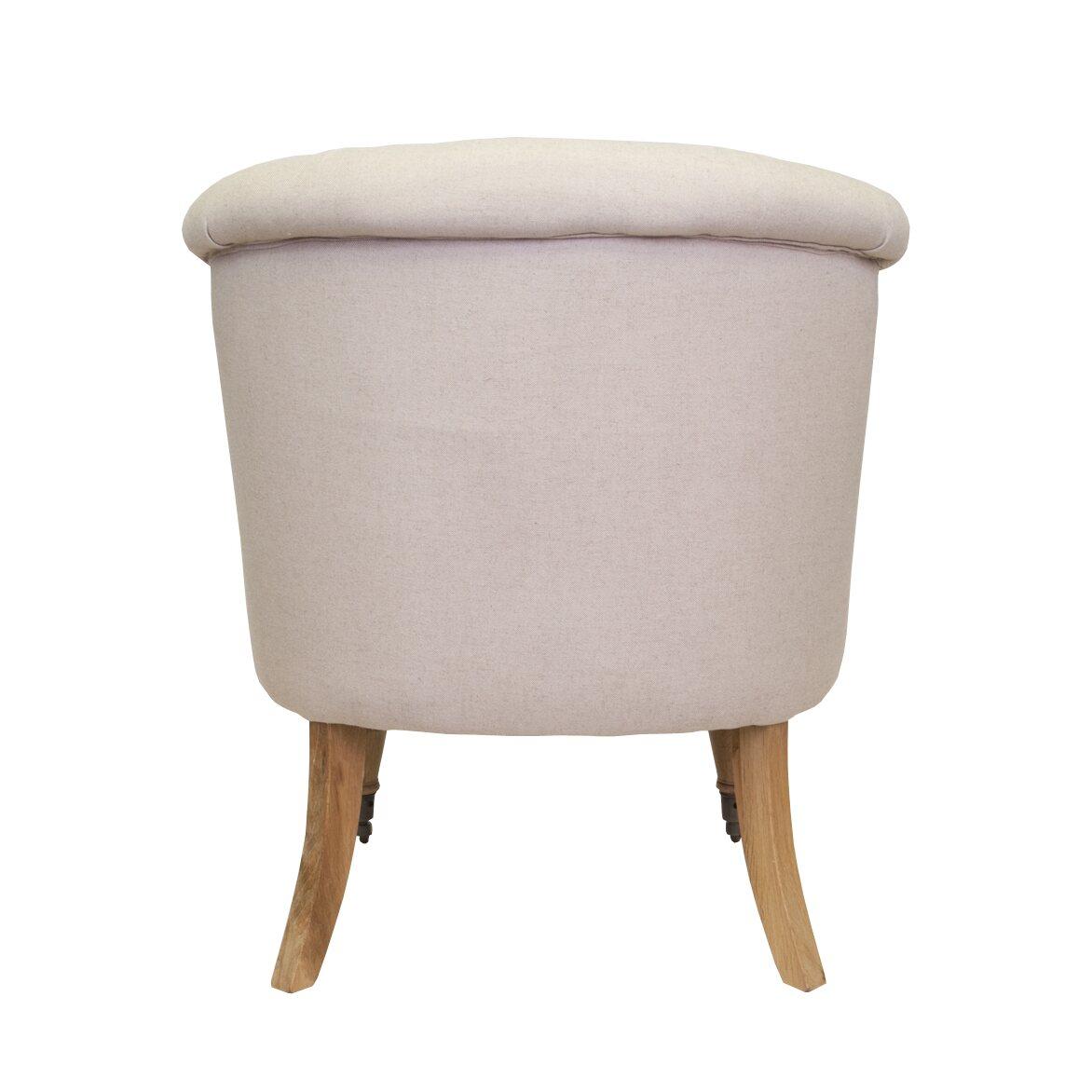 Низкое кресло Aviana Beige 3 | Маленькие кресла Kingsby