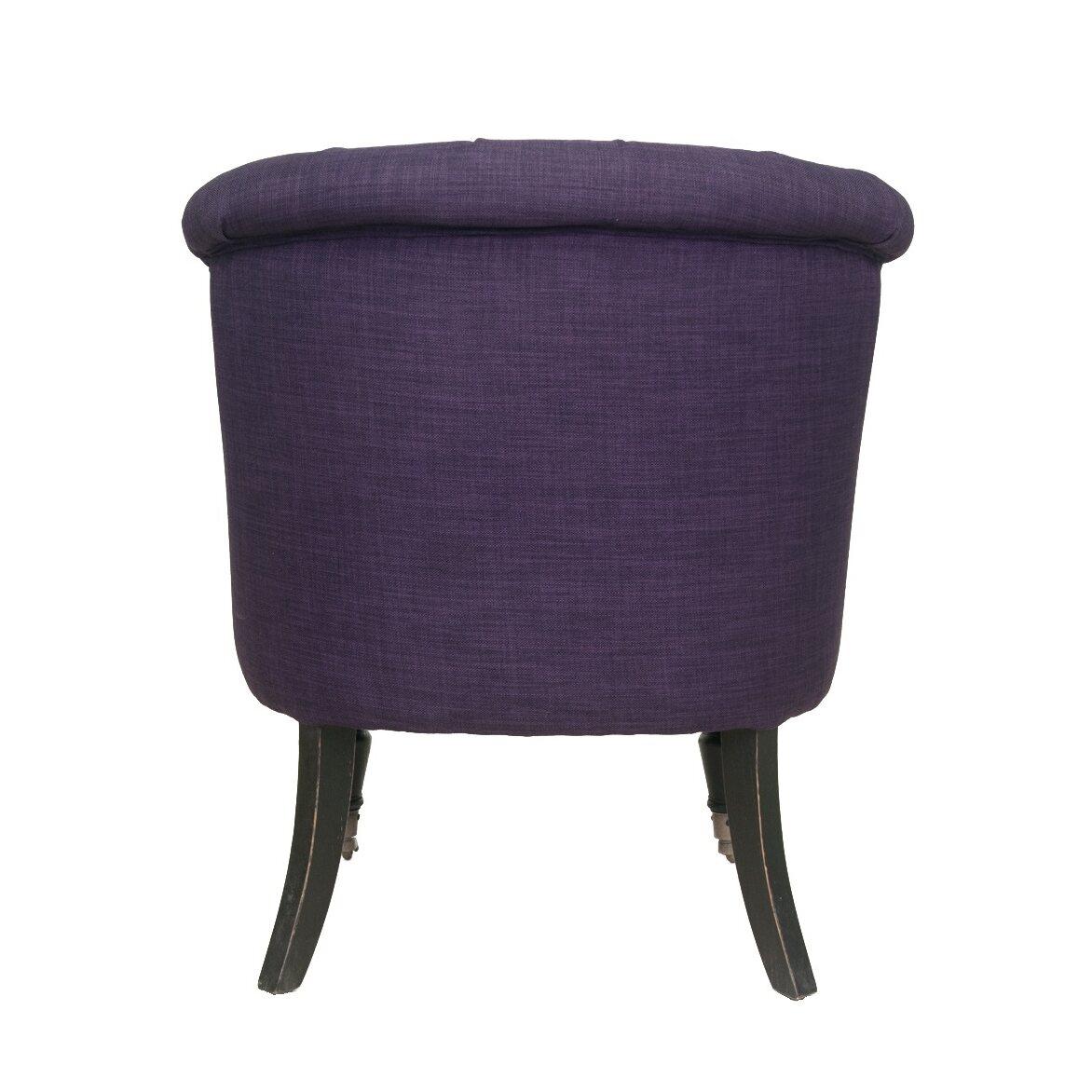 Низкое кресло Aviana purple 3   Маленькие кресла Kingsby
