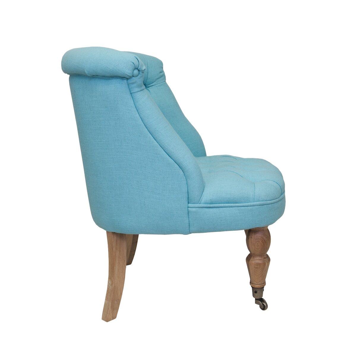 Низкое кресло Aviana Blue 2 | Маленькие кресла Kingsby