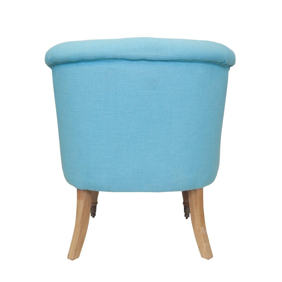 Низкое кресло Aviana Blue 3 | Маленькие кресла Kingsby