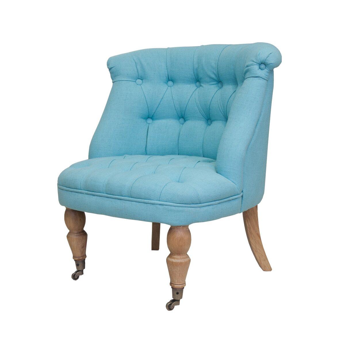 Низкое кресло Aviana Blue 4 | Маленькие кресла Kingsby