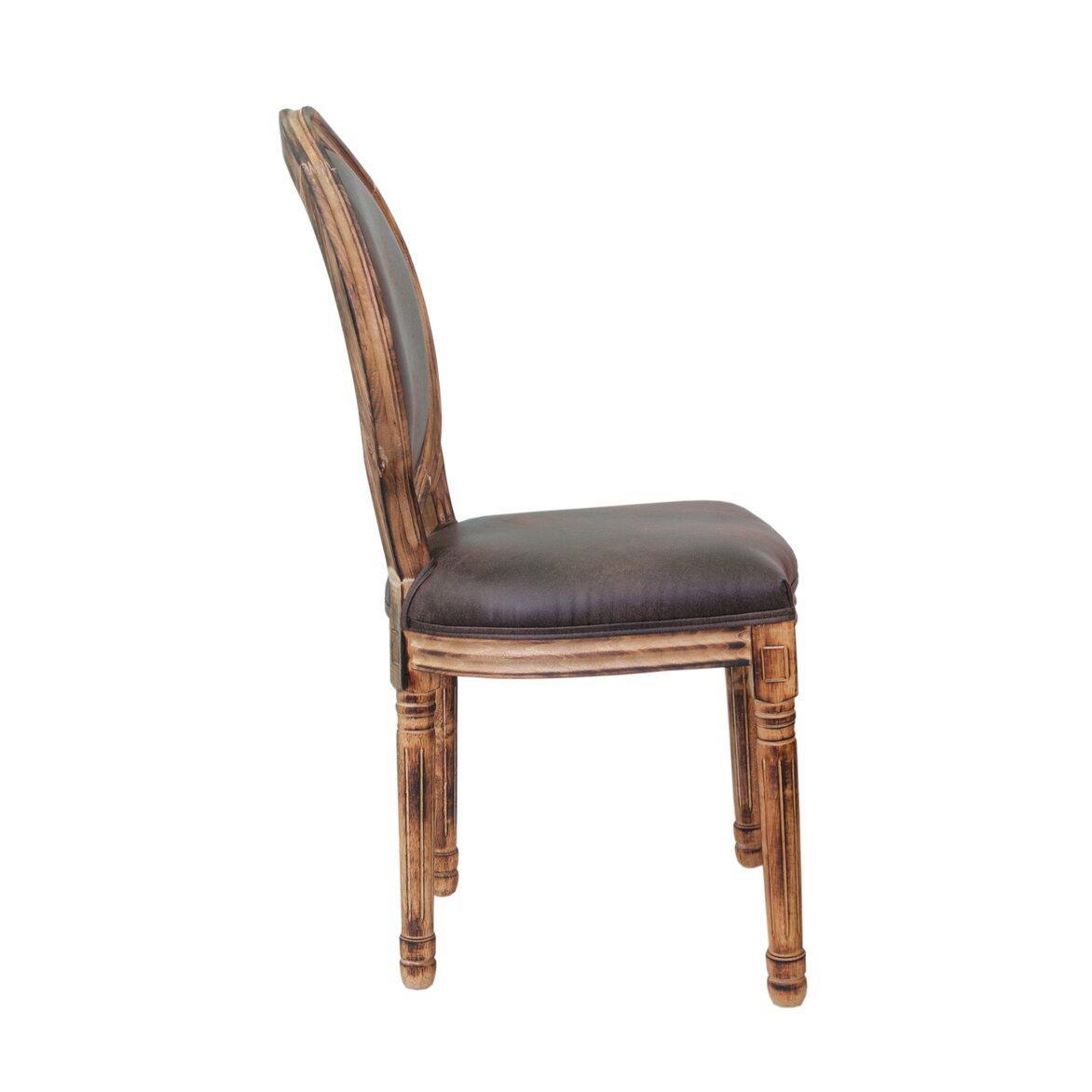Стул Volker fired brown 2 | Обеденные стулья Kingsby