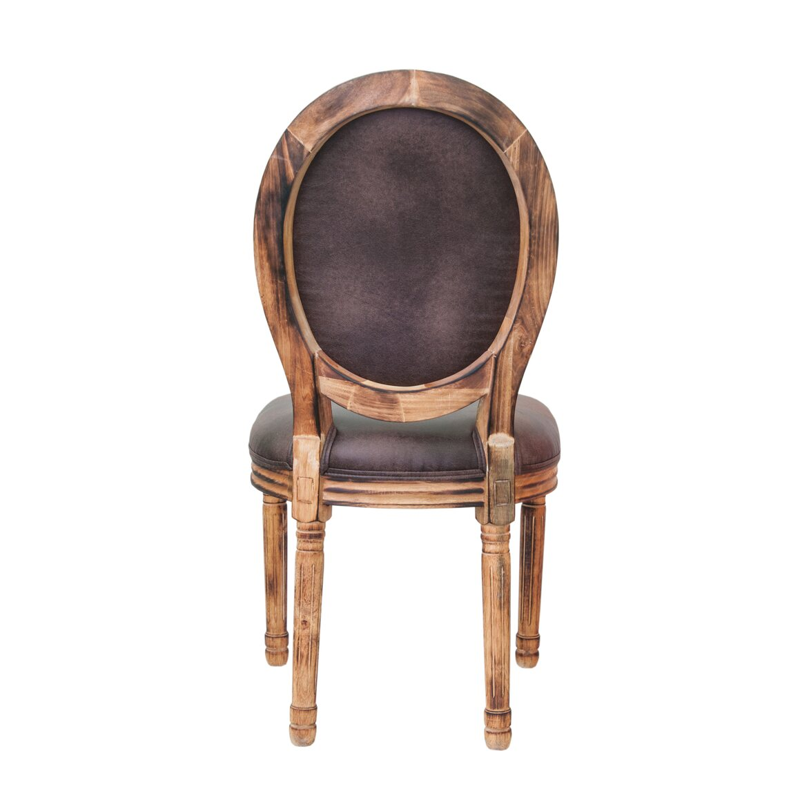 Стул Volker fired brown 3 | Обеденные стулья Kingsby