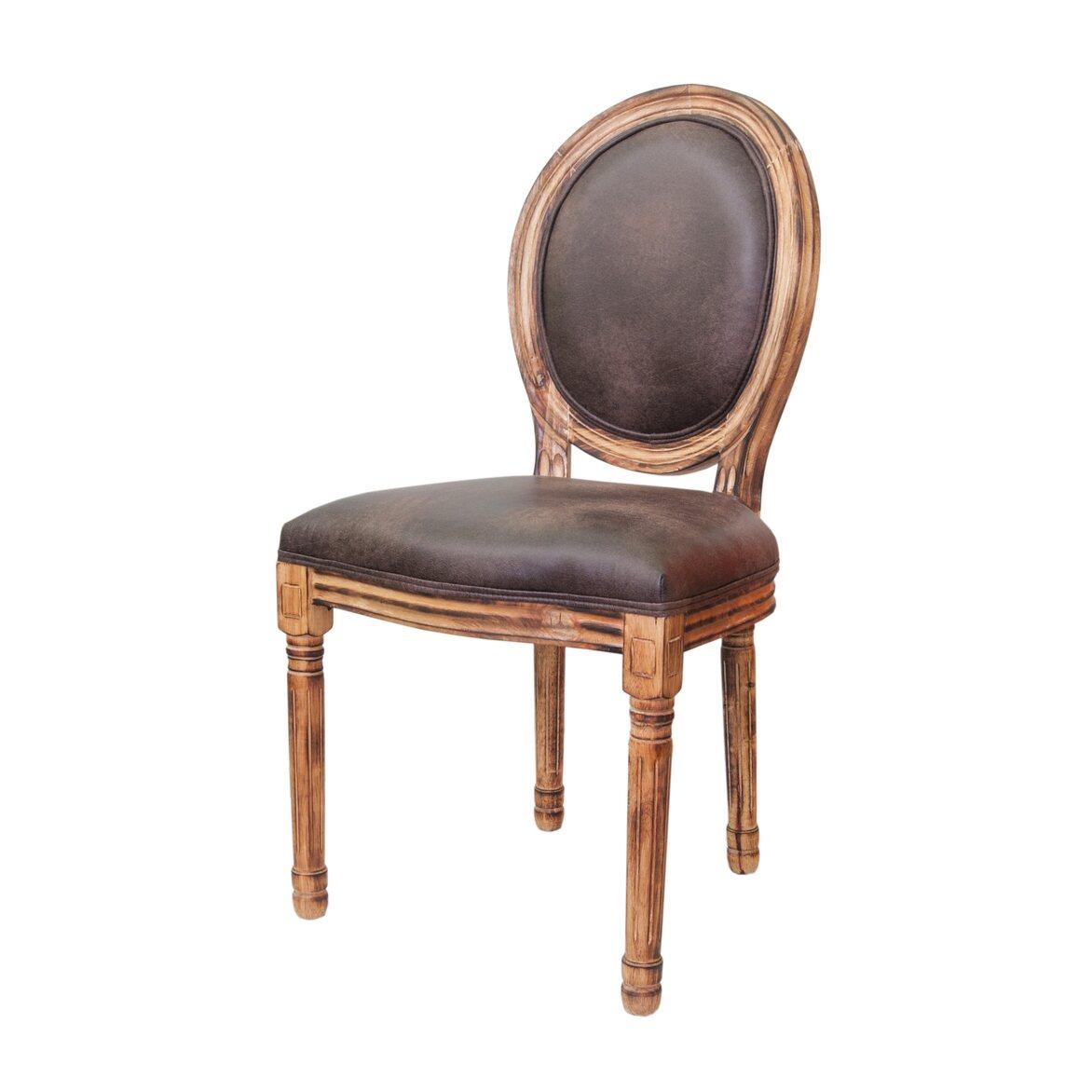 Стул Volker fired brown 4 | Обеденные стулья Kingsby