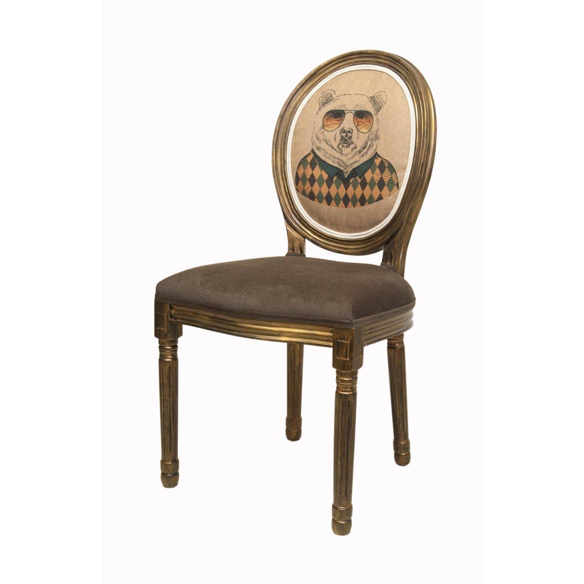Стул Volker brown bear 4 | Обеденные стулья Kingsby