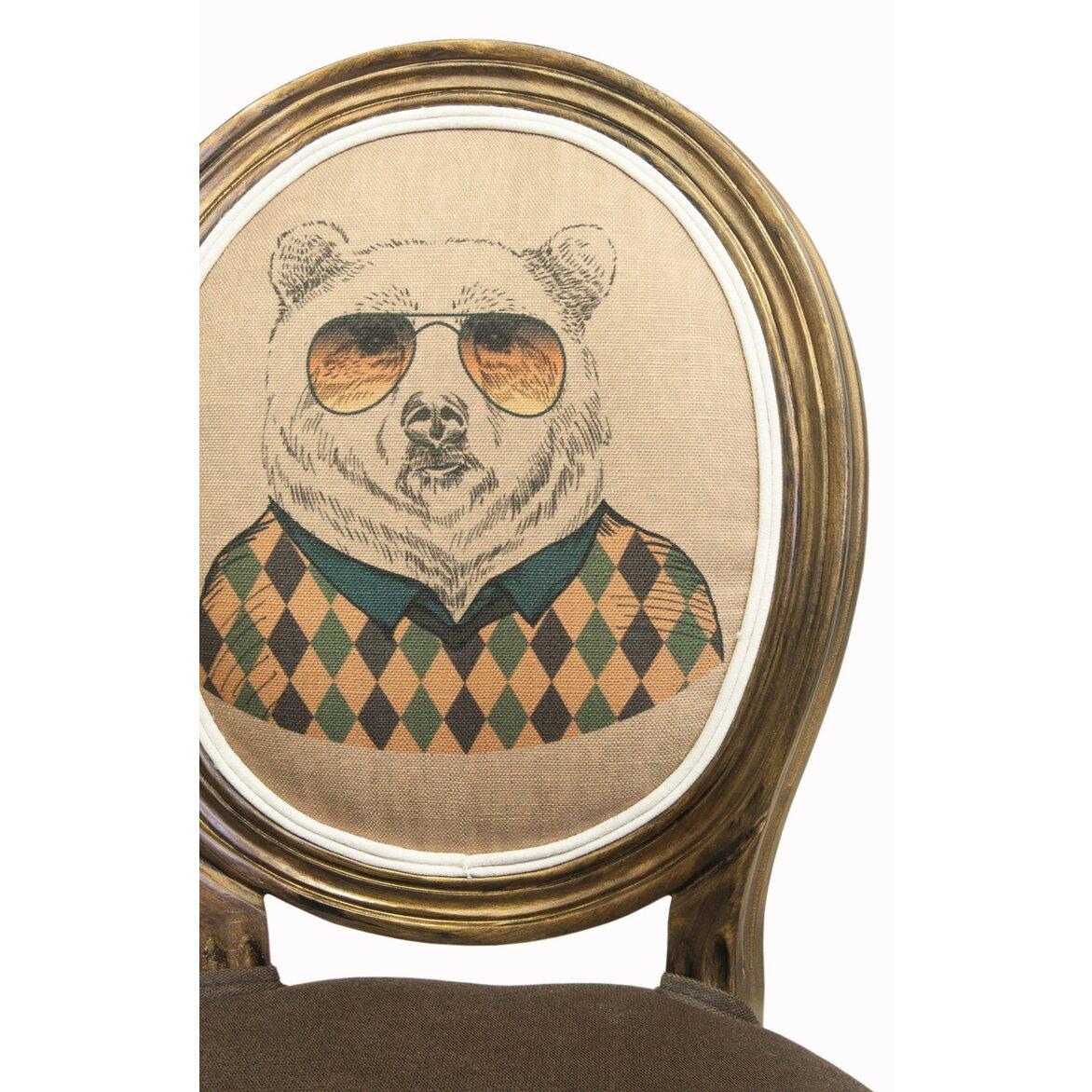Стул Volker brown bear 6 | Обеденные стулья Kingsby